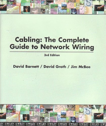 cabling the complete guide to network wiring 4th edition pdf