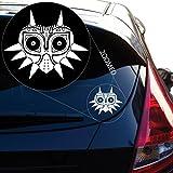 zelda auto decal - Zelda Majoras Mask Skin Decal Sticker for Car Window, Laptop, Motorcycle, Walls, Mirror and More. # 552 (5