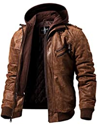 d524f36b97fb Mens Leather and Faux Leather Jackets
