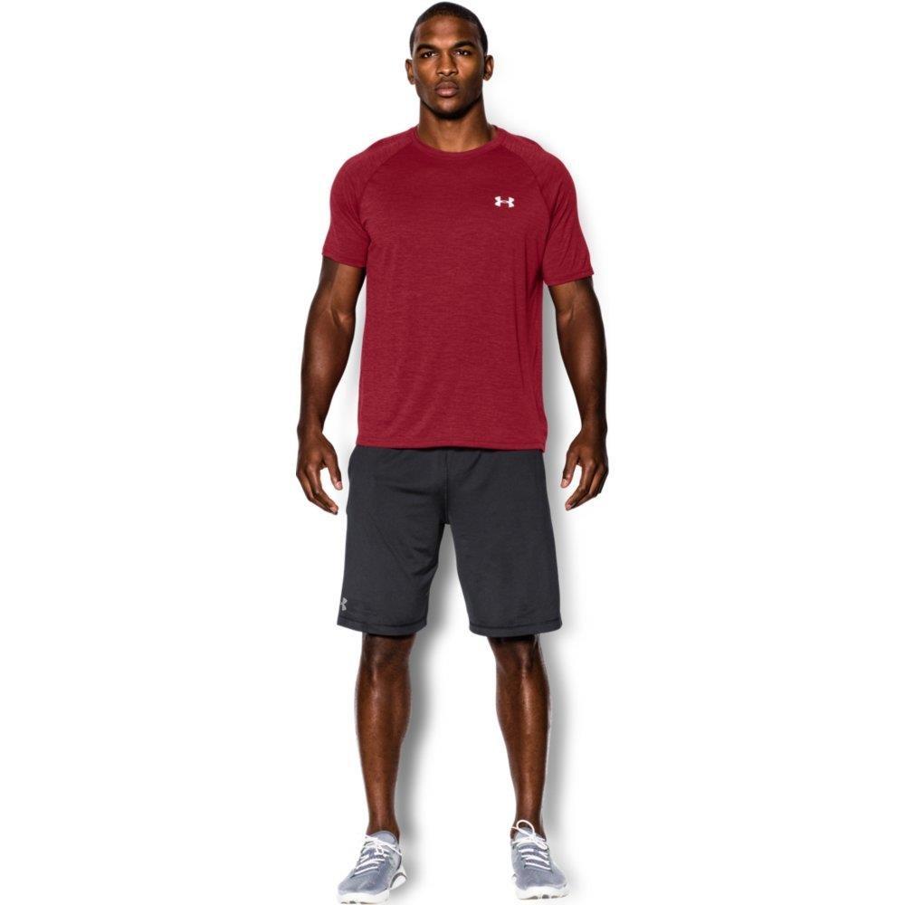 本物品質の [アンダーアーマー] S トレーニング/Tシャツ Crimson/White テックTシャツ 1228539 メンズ B007LCJL8M Crimson メンズ/White S S|Crimson/White, ブランディング:38ac1c24 --- arcego.com.br