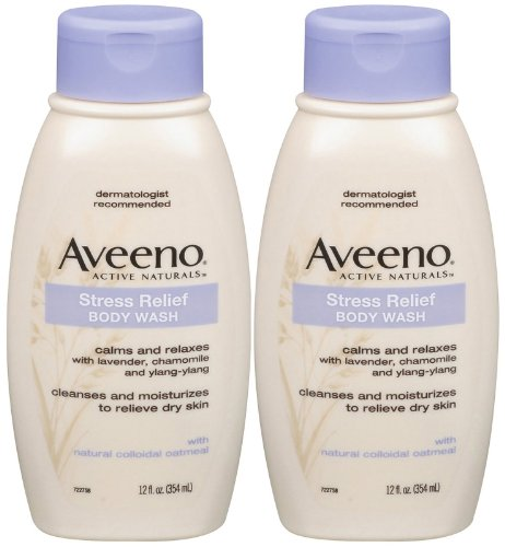Aveeno Stress Relief Body Wash - 12 oz - 2 pk