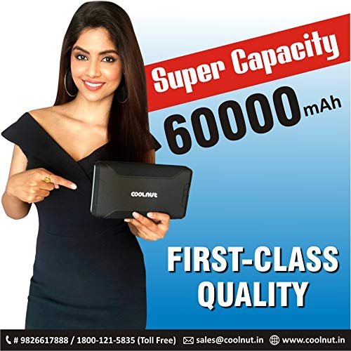 Coolnut 60000mAh Power Bank for Laptop Online India