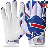 youth football gloves receiver - NFL Buffalo Bills Youth Receiver Gloves,White,Medium