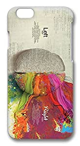 iPhone 6 Cases, Science Thinking Creative Artwork Protective Snap-on Hard Case Back Cover Protector Slim Rugged Shell Case For iPhone 6 (4.7 inch) by ruishername