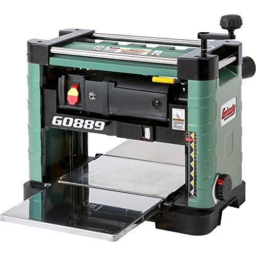 "Grizzly Industrial G0889 - 13"" 2 HP Benchtop Planer"