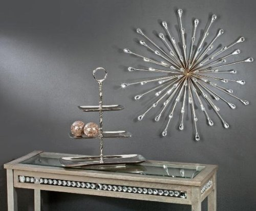 Metal Wall (Tripar Starburst Metal Wall Art)