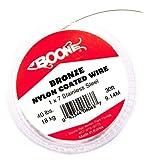 Boone 06063 Líder Acero con Nylon, 40 Lbs