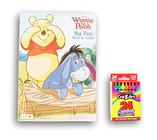 Winnie The Pooh Big Fun Book To Color With Cra Z Art Crayons