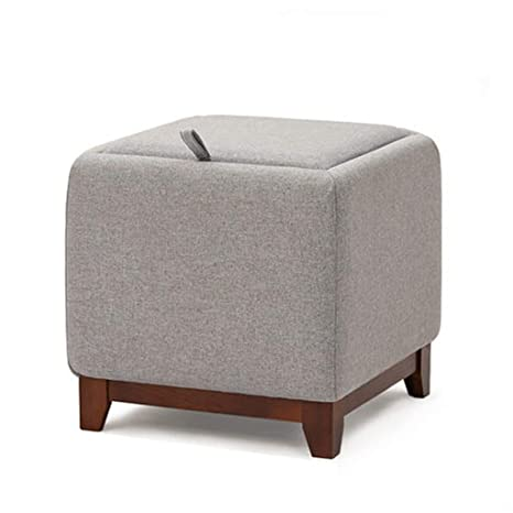 Amazon.com: ZHZHPSFD - Taburete cuadrado para sofá o banco ...