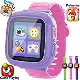 GBD Kids Game Smart Watches [AR Pro Edition] Boys Girls Gifts Travel Camping Pedometer Timer Camera Wristwatch Alarm Sport Watch Indoor Outdoor Children Learning Toy