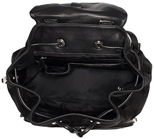 Kors 20 Rucksackhandtasche x x Back Schwarz Cara Pack Large cm 3 6 14 Black Pocket Michael Damen 3 d07qwZZ