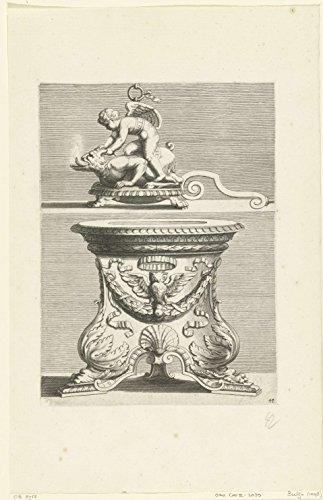 oil lamp pedestal - 5