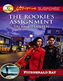 Front cover for the book The Rookie's Assignment (Love Inspired Suspense) by Valerie Hansen