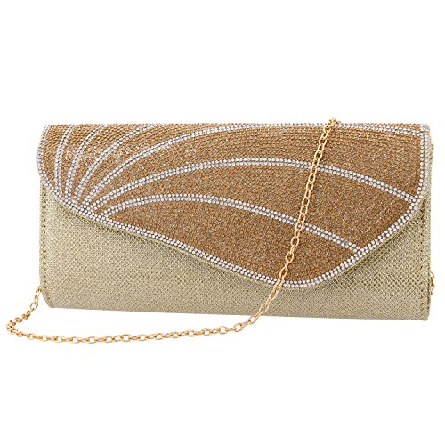 Boutique Women Gold2 Wedding Silver Evening Ladies Purse Clutch Dazzling Shiny Novias Handbag Party Bag qZ5xdU