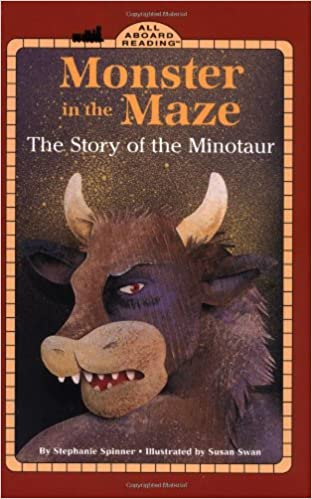 Amazoncom Monster In The Maze The Story Of The Minotaur All