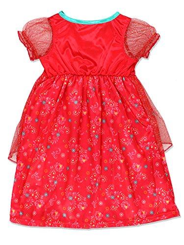 Disney Elena of Avalor Girls Fantasy Gown Nightgown Pajamas (Toddler/Little Kid/Big Kid) by Disney (Image #1)