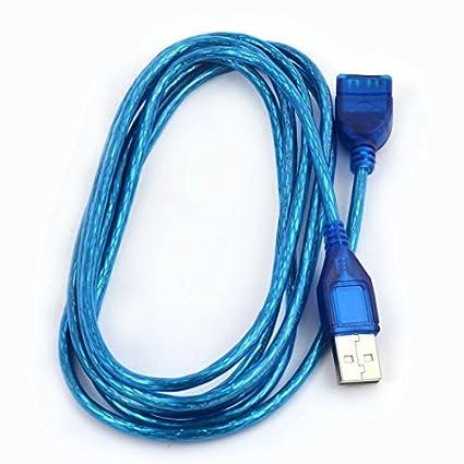 DealMux USB 2.0 Homem para Mulher Dados Power Charge cabo de extensão 2m de comprimento para