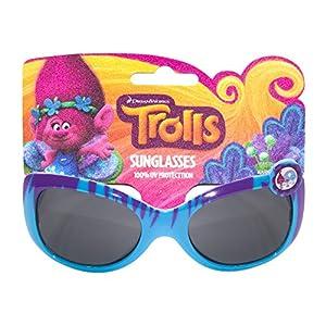 Dreamworks Trolls Kids Children Girls Sunglasses with 100% UV Protection Heart Shaped Frame Multicolor