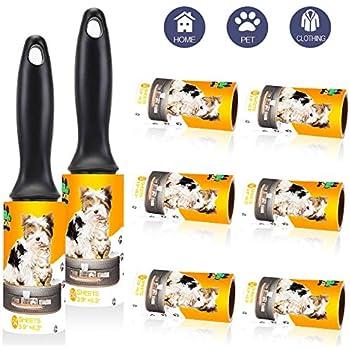 Amazon.com: XFasten Rodillo para pelusas de mascotas; 1 ...