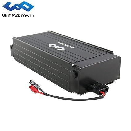 Hot Sale! 52V 18AH E-Bike Lithium Rack Battery with Charger for 52V/48V  1000W Motor (Black, 58V 18AH)