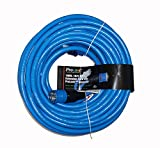 ProLock 10 Gauge 3 Conductor SJTW 100 Foot Extension Cord With Lighted Ends - Blue