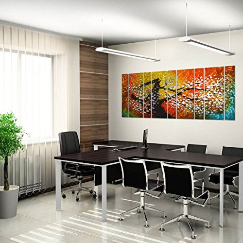 Wall26 3 Piece Canvas Wall Art Luxury Gold Abstract Polygonal Background 3d