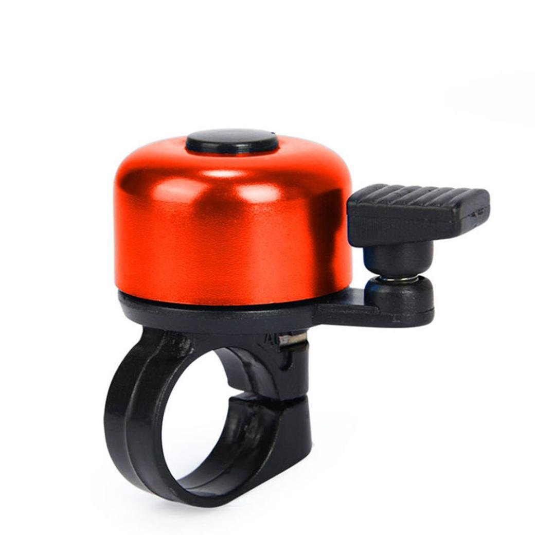 Keepwin Classic Kids Bicycle Bell Ring Horn for Outdoor Riding Mountain Cycling Bike Bell Turning Ding While Braking Lightweight and Safety