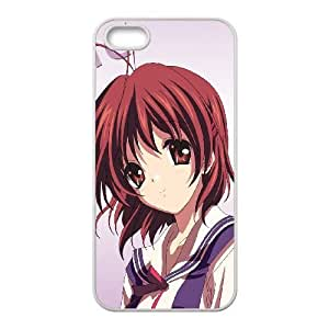 Clannad iPhone 5 5s Cell Phone Case White 91INA91356376