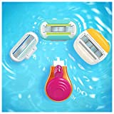 Gillette Venus Snap Cosmo Pink with Extra Smooth Womens On-the-Go Razor - 1 handle + 1 Refill