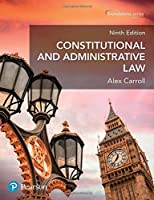 Constitutional and Administrative Law, 9th Edition Front Cover