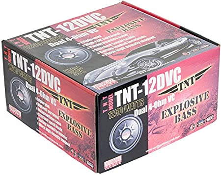 Pair Earthquake Sound PR-TNT12S 12-inch Subwoofer with Single 4-ohm Voice Coil