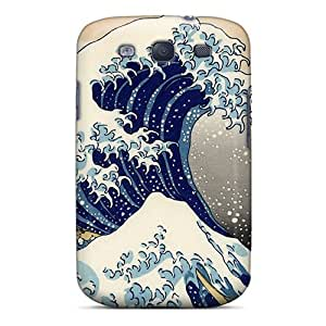 Durable Protector Case Cover With Wave Hot Design For Galaxy S3