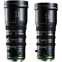 Fujinon MK 18-55mm T2.9 Lens, Sony E-Mount - With Fujinon MK 50-135mm T2.9 Lens, Sony E-Mount