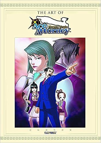 The Art Of Phoenix Wright Ace Attorney Capcom Capcom
