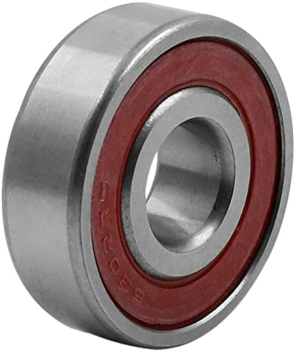 15/x 42/x 13/mm Grooves Single Row Rubber Sealed Roller Bearing 6302RS
