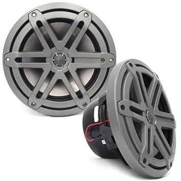"JL AUDIO MX770-CCX-CG-TB 7.7/"" 2-WAY SILK TWEETERS MARINE COAXIAL BOAT SPEAKERS"