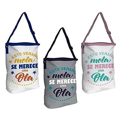 Bolsa Nevera Playa Baggy Ola 8 litros Surtido: Amazon.es: Deportes ...