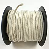 Pack of 1, Heinz Self Trimming Cotton Paper Braided Cd-4 Wicking Per 500 Ft. for Paraffin & Soy Candles