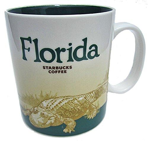 Starbucks Coffee City Mug Collection- Florida, 16 Oz Cup