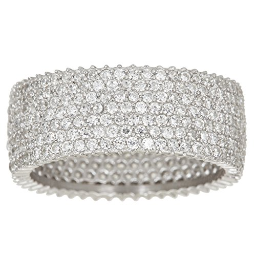Row Eternity Wedding Band - 9