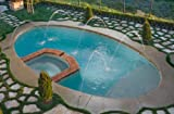 4 Pack Swimming Pool Spa Fountain Deck Jet Water