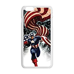 Cool Painting Capital American Fashion Comstom Plastic case cover For Iphone 6 Plus