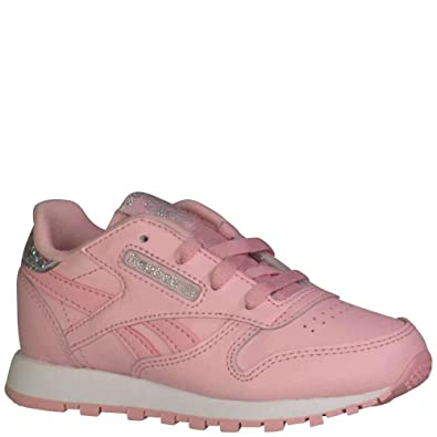 huge discount fe555 eae38 Amazon.com | Reebok Kids Womens Classic Leather Pastel ...
