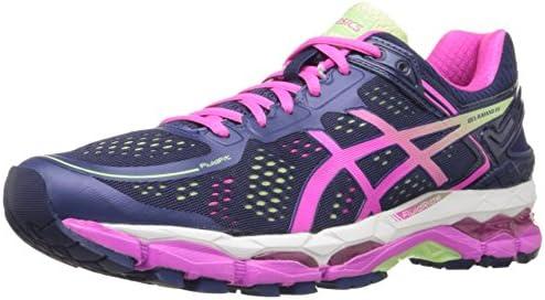 ASICS Women's Gel Kayano 22 Running Shoe, Indigo BluePink