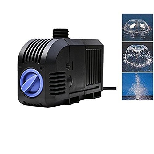 AGPtek® 320GPH Electric Submersible Indoor Outdoor Water Fo
