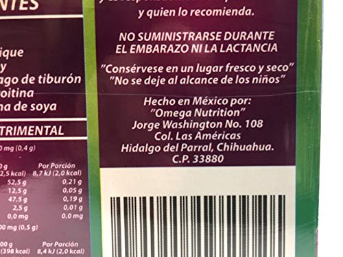 Amazon.com: Natural de Mexico 2 Ortiga and AJO Rey with Omega 3, 5 and 9 Dietary Supplement Original: Health & Personal Care