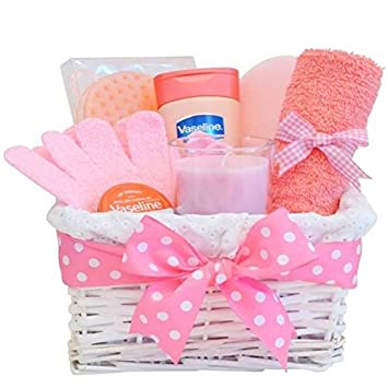 Mum Birthday Gift Basket Hamper / Mothers Day Gift / Pamper Gift ...