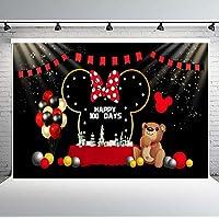 PHMOJEN Cartoon Roles Theme Girl Baby 100 Days Party Decor Backdrop