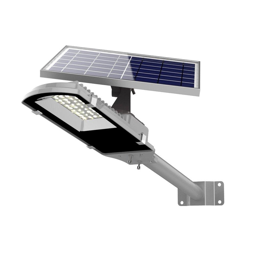MPPT テクノロジー Solar Pathway Light VPL Series 6000K ソーラーパスライトVPLシリーズ 30W 12V 26000mAh 2500LM リチウムイオン ソーラー街路灯ソーラーガーデンライト 15時間の照明 B07DMLBHPR