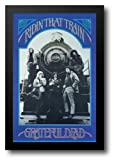 Grateful Dead- Train 26x38 Framed Art Print